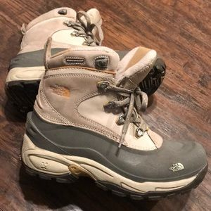 Women's North Face- waterproof boots